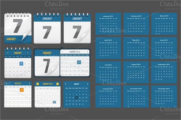 Event Calendar Template 9 Premium and Free Download for Excel – Sample Calendar