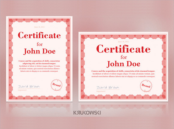 20 graduation certificates psd word sample graduation certificate template yadclub Gallery