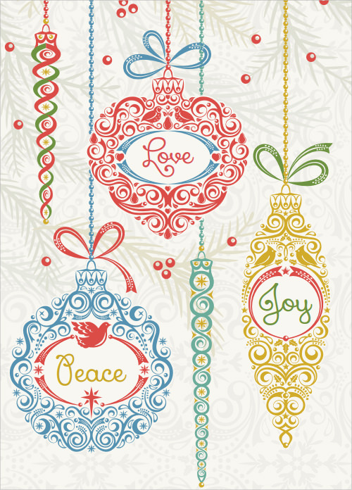 sample greeting card template