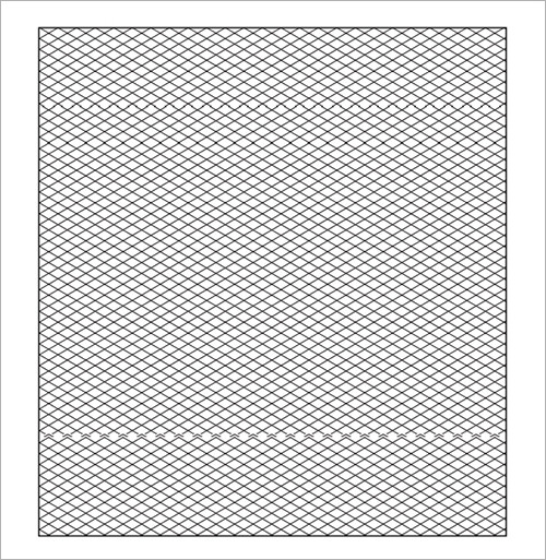 Isometric Graph Paper. Where Can I Buy Isometric Graph Paper