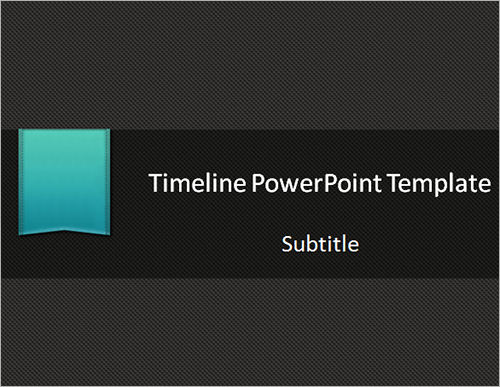 sample powerpoint timeline