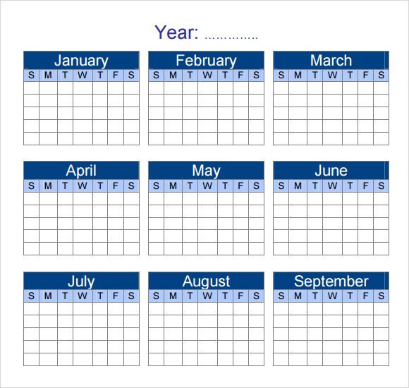 free 12  sample yearly calendar templates in google docs