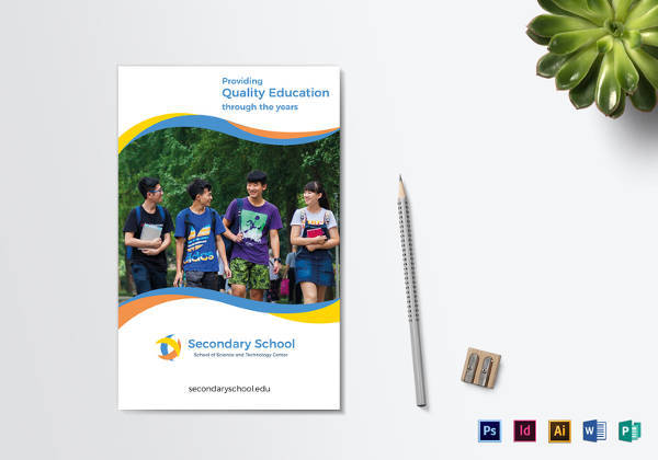 24 useful school brochure templates sample templates for Educational brochure templates