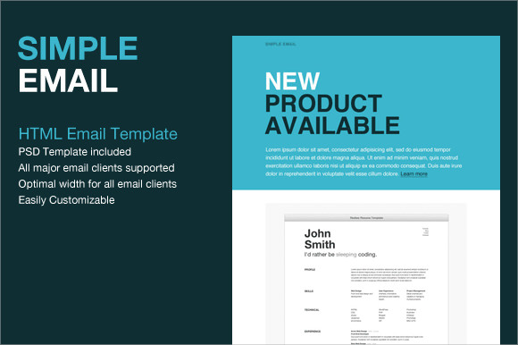 9 sample html emails sample templates for Html code for email template