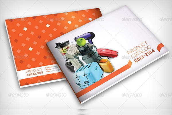 simple product brochure