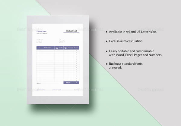 simple timesheet template3