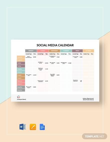 social media calendar template2
