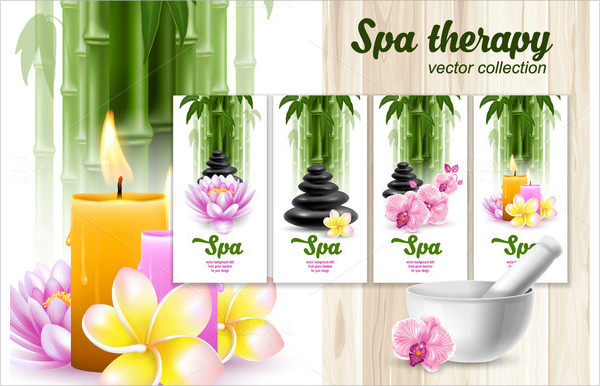 Spa Brochures  Psd In Design Pdf