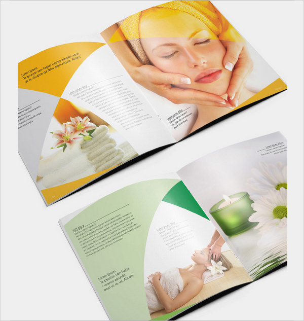 free 19  spa brochures in illustrator