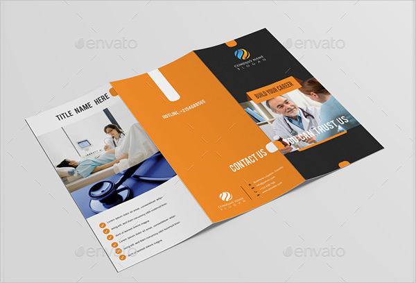 Hp Tri Fold Brochure Template Sample Tri Fold Brochure Templates Hp