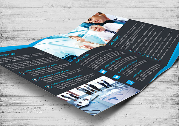 10 tri fold brochures sample templates for Tri fold brochure illustrator template
