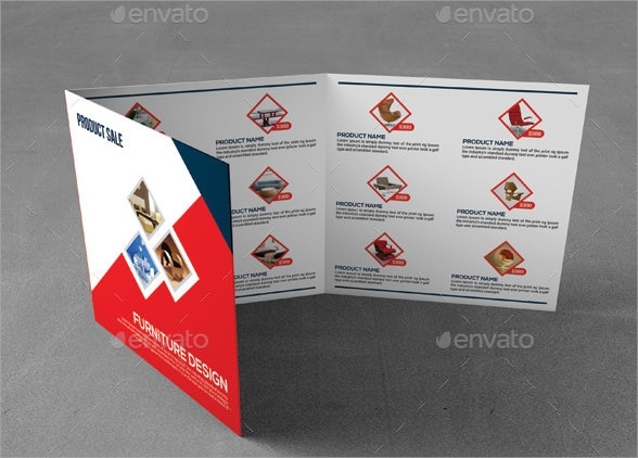 trifold sales brochure