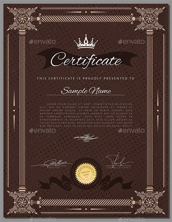 Sample Graduation Certificate Template - 19+ Documents in ...