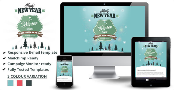 winter sale %e2%80%93 responsive email templates