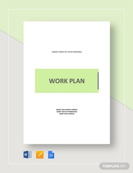 work plan template1