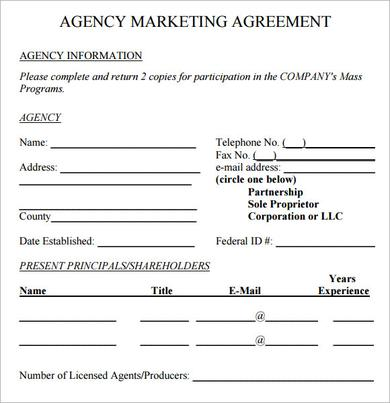 Advertising  Marketing Agency Agreement Digital Marketing Jobs In