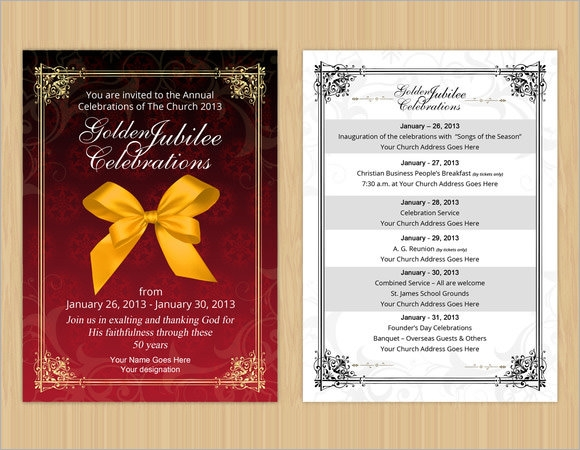 9 event invitations sample templates anniversary event invitation stopboris Choice Image