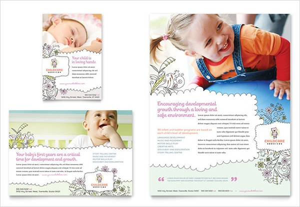 11 Babysitting Flyers PSD PDF – Babysitting Flyer Template