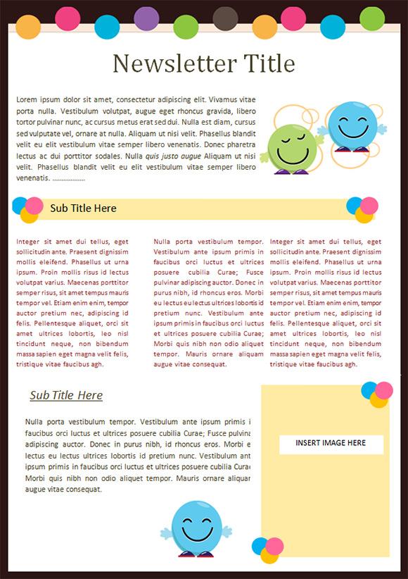 Greatest Primary Newsletter Templates &XA08 ... on kindergarten newsletter templates for teachers, preschool newsletter templates for word, school newsletter templates for word,