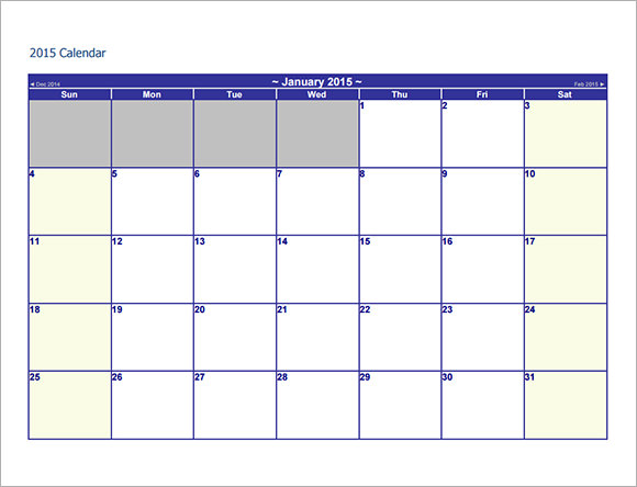 12 sample annual calendar templates to download sample for Annual event calendar template