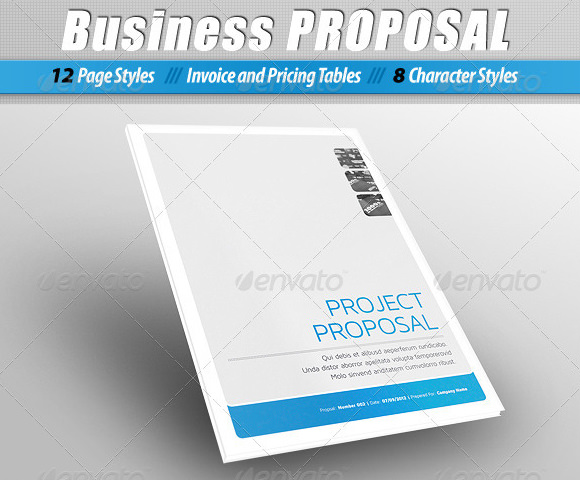 Proposal Template. Project Proposal Template 8+ Business Proposal