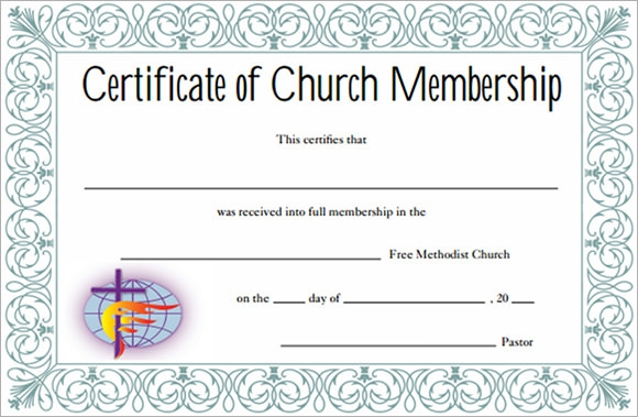 Sample Membership Certificate 7 Documents in PDF PSD – Membership Certificate Template