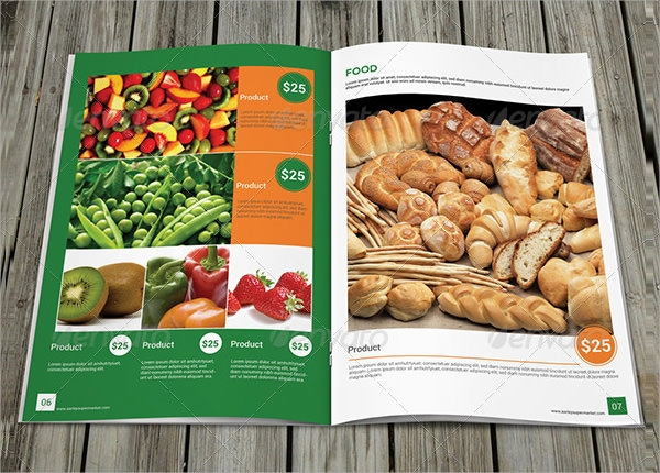 colorfull product brochure