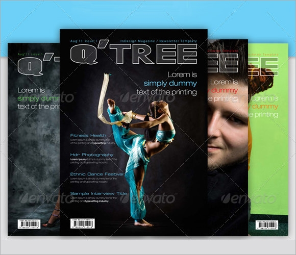 corporate newsletter indesign