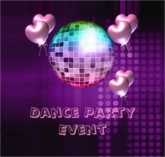 Dance Party Invitations Templates The Best Invitation In 2017 – Dance Party Invites