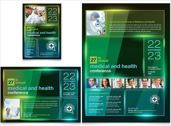 download medical flyer templates