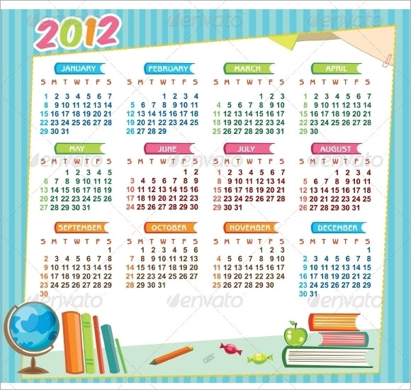 education academic calendar 2012