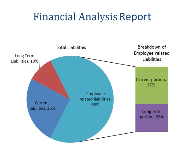Financial Analysis Report  Analysis Report Sample