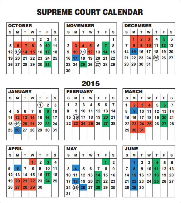 Agenda Calendar 6 Download Free Documents in PDF – Sample Agenda Calendar