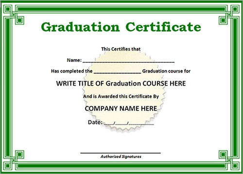 14+ Sample Certificates | Sample Templates