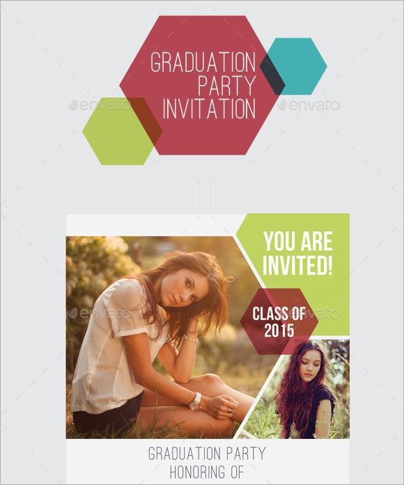 graduation email invitation template