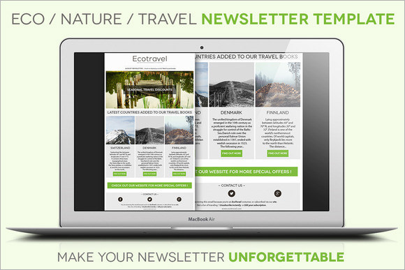 holiday newsletter template publisher
