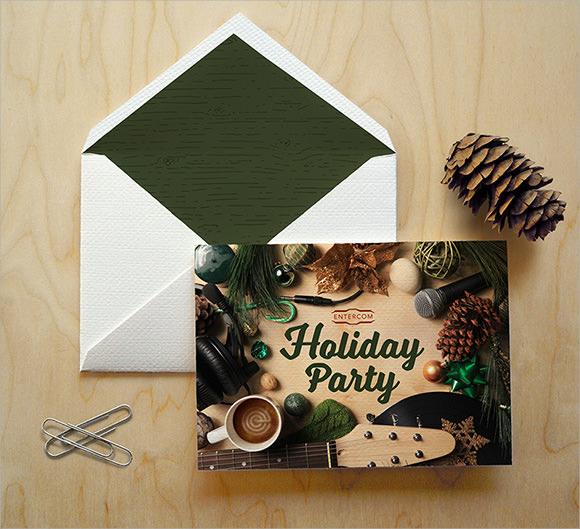 holiday party invitation text