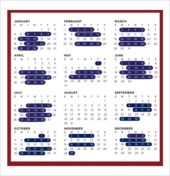 monthly calendar pdf