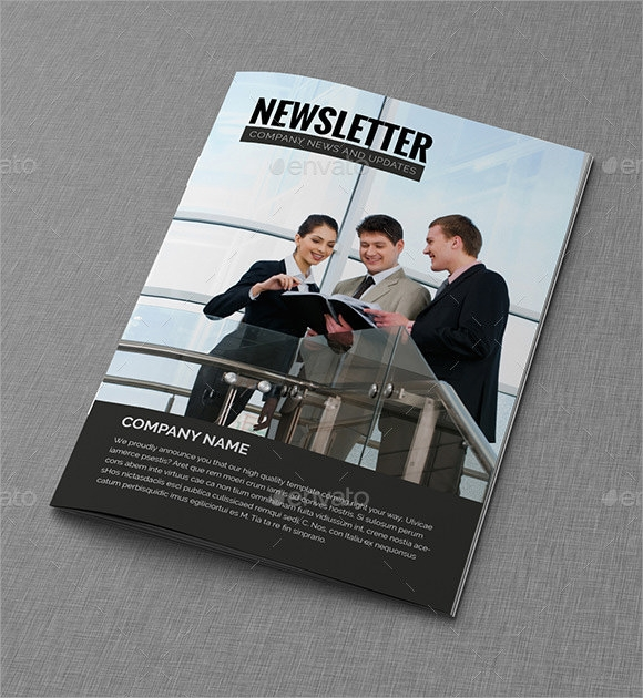 office real estate newsletter template1