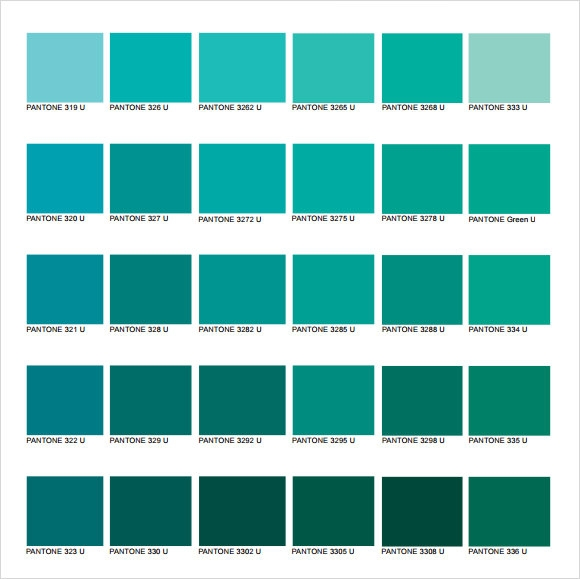 Great Pms Color Chart