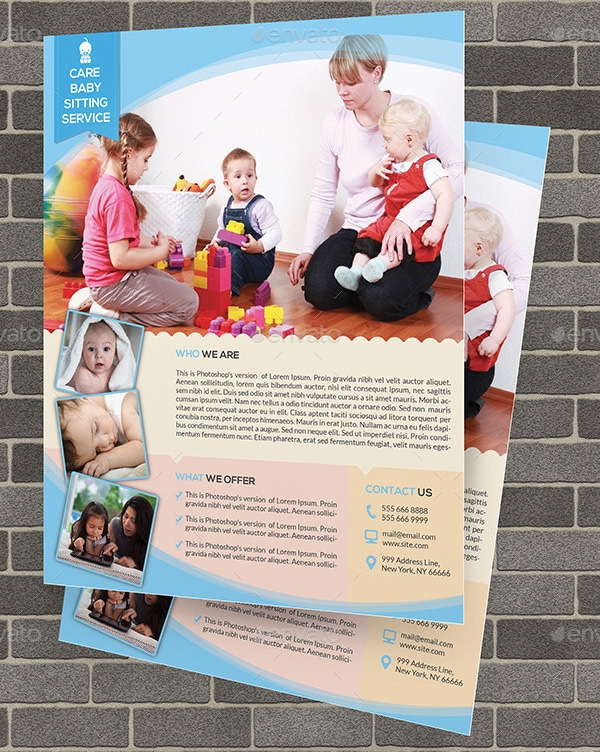 11 Babysitting Flyers Sample Templates