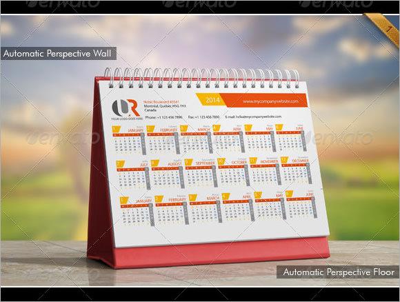 printable desk calendar