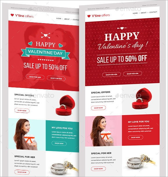 Email Marketing Samples  Vector Eps Psd