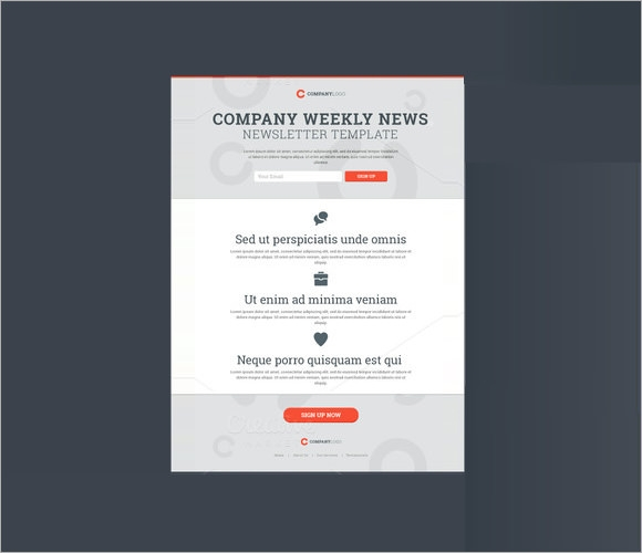 5 sample company newsletters sample templates