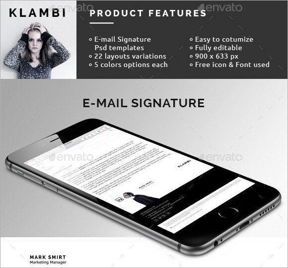 Email Signatures  Psd