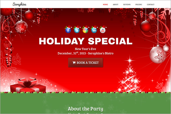 snowman holiday family newsletter template