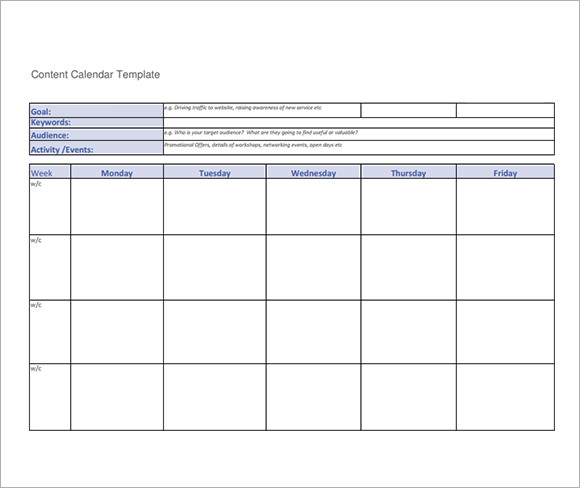 Assessment Calendar Template Running Training Calendar Template