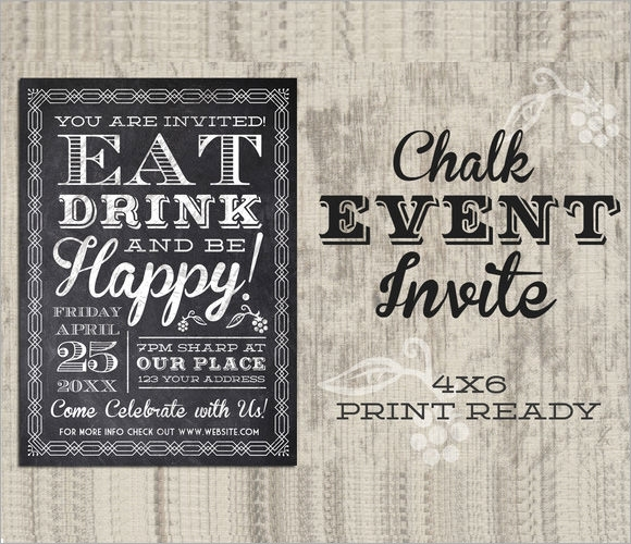 9  event invitations