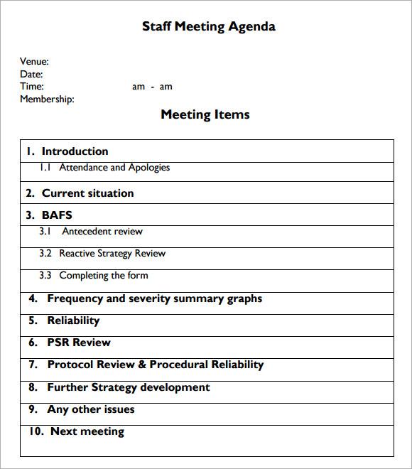 fine meeting template sample festooning resume ideas