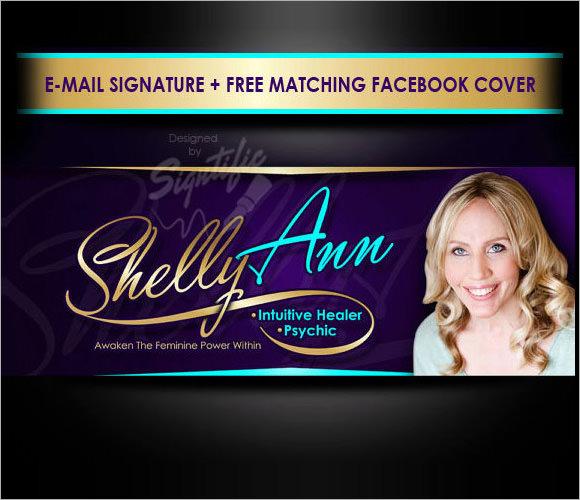 stylish email signature template1